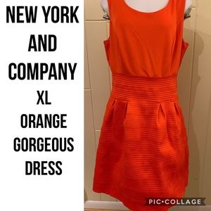 Gorgeous Orange Dress